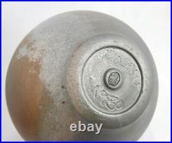 1980 Reid Ozaki Raku Pottery Vase (item#b4)