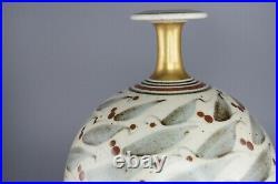 20th Century Studio Pottery Vase by Derek Clarkson (1928 2013)