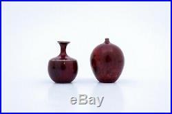 2 Miniature vases Stig Lindberg Gustavsberg Studio