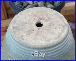 60s 18 MCM Zanesville art pottery planter floor vase spaceage atomic statue