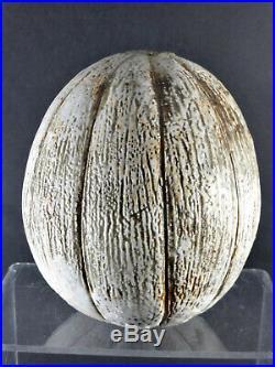 ALAN WALLWORK Studio Pottery Stoneware Seed Pod Form Vase British Art Pottery