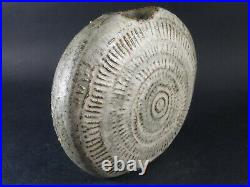 ALAN WALLWORK Studio Pottery Stoneware Signed PEBBLE Vase British Art London