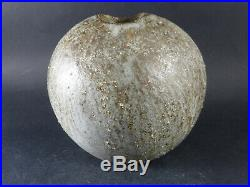 ALAN WALLWORK Studio Pottery Stoneware Signed Vase British Art Pottery Vintage