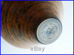 A Duncan Ross Burnished Vase 16cm high Studio Pottery, Perfect