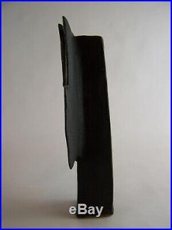 A John Maltby Slab Built Stem Vase Studio Pottery 26cm High Perfect