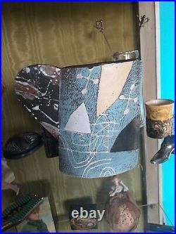 A John Maltby mug vase cup. Studio Pottery