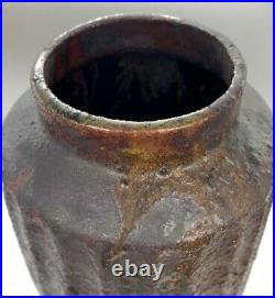 Akiko Hirai, Large Fluted Stoneware Vase