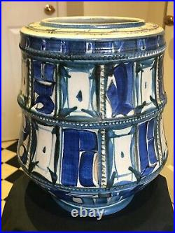 Alan Caiger Smith Aldermaston pottery vase
