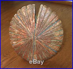 Alan Wallwork studio pottery medium Star Oval