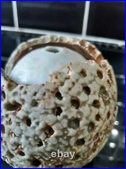 Alan wallwork seed pod vase in excellent condition no damage chips or repairs