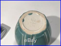 Antique Rookwood Pottery Blue Matte 1927 Vase 2374 6.5 Studio Art