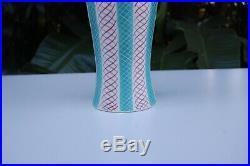 Antique Vintage Authentic Signed Poole England & Modeled 694 Extra Large Vase