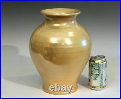 Arthur E Baggs Cowan Pottery Vase Studio Flambe Binns Marblehead Signed Dated