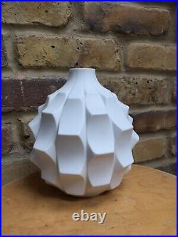Artichoke Vase Heinrich Fuchs Studio Pottery 1960s midcentury