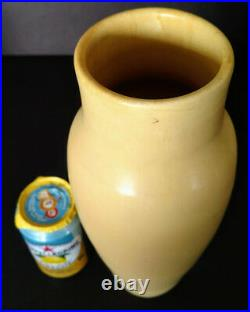 Arts & Crafts DOOR Pottery Timeless Color Shape & Series Ended, Signed Piece