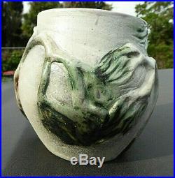 Australian Pottery Guy Boyd Studio Vase Ti- Trees In The Wind 1947 Scarce