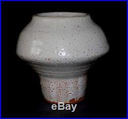 Awesome Warren MacKenzie Studio Pottery Mushroom Vase Bernard Leach Shoji Hamada