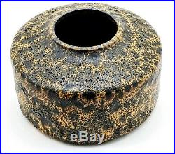 BROTHER THOMAS BEZANSON SIGNED Art Pottery Vase 1980s Unique & Perfect
