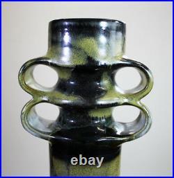 Barbara Stehr Große Studiokeramik Vase Objekt German Studio Pottery Object 1972