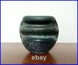 Beate Kuhn Studiokeramik Objekt Keramik Vase German Studio Pottery MID Century
