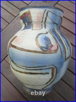 Bernard Forrester Large Stoneware Lustred Vase Leach/dartington