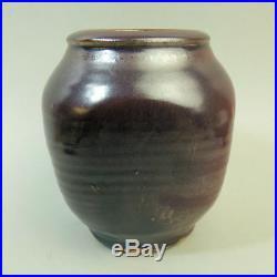 Bernard Leach St Ives Studio Pottery Vase (clear Seal Marks)
