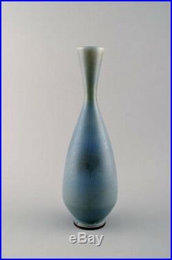 Berndt Friberg Studio large ceramic vase. Modern Swedish design