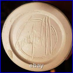 Bill Campbell Signed Crystalline Glaze Pottery Studio Vase 10