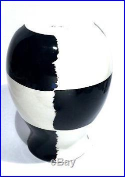 Bitossi Italy Vintage Modernist Painted Studio Art Pottery Vase