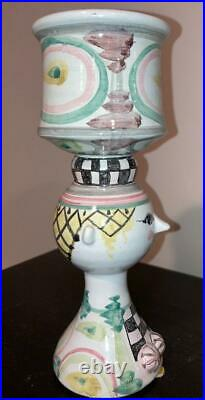 Bjorn Wiinblad Mid-century Studio Art Pottery Head Vase V40 1966