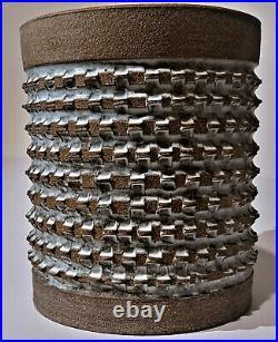 Brent Bennett MCM Brutalist Stoneware Studio Architectural Pottery Planter Vase