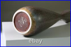 CARL-HARRY STALHANE Slim studio vase 29 cm SVT Rorstrand Sweden -1950s