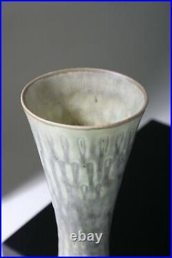 CARL-HARRY STALHANE Slim studio vase 31 cm Rorstrand Sweden -1950s