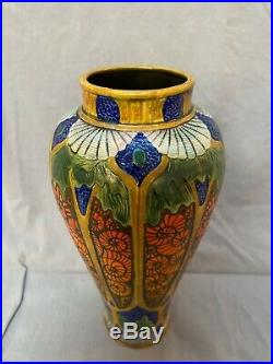 Calmwater Designs Stephanie Young Pottery Ammonites with Light Large Vase