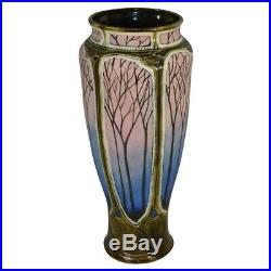Calmwater Designs Stephanie Young Pottery Scenic Twilight Porcelain Vase