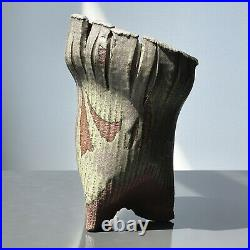 Charles Lakofsky (American, 1922-1993) Modernist Two Toned Ceramic Vessel