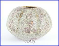 Chris Carter Large Flambe Studio Pottery Volcanic Gourd Vase Leach St Ives