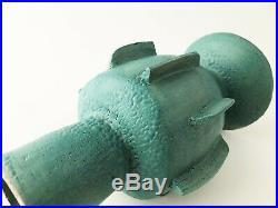 Contemporary modernist ceramic weed pot bud vase vessel by Daniel Hukill