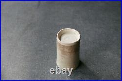 DAME LUCIE RIE British studio pottery stoneware SPILL VASE c1960s