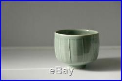 DAVID LEACH 1911-2005 studio pottery PORCELAIN CELADON BOWL Bernard Son