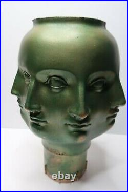 DORA MAAR Modern PERPETUAL FACE Vase FORNASETTI TMS 2005 Vitruvian