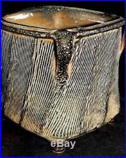 Dan Anderson Pottery Shino Vase