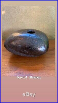 David Shaner Pillow Vase