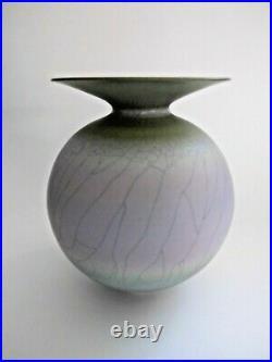 David White British Studio Porcelain Pottery Vase