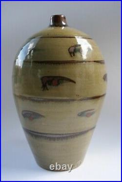 David leach Lowerdown studio pottery Vase