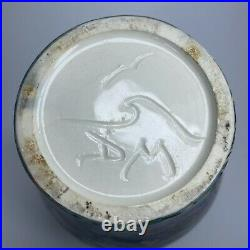 Dean McRaine Light Wave Art Pottery Psychedelic Hawaiian Millefiori Clay Vase 9