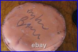 Dylan Bowen Ceramics Studio Pottery Slipware Large And Small Plate