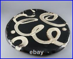 Dylan Bowen Ceramics Studio Pottery Slipware Large Plate