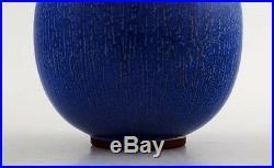 Early Berndt Friberg Studio ceramic vase. Modern Swedish design