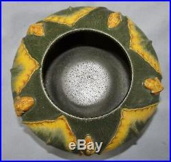 Ephraim Faience Experimental Art Pottery Bowl Vase